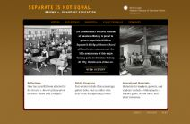 Thumbnail image of Separate is Not Equal: Brown v. Board of Education Homepage
