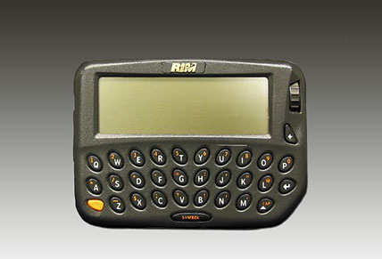 Blackberry Personal Data Assistant (PDA)