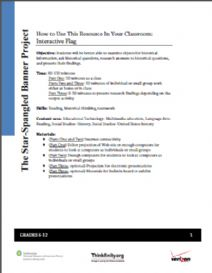 Thumbnail image of How to Use this Resource in Your Classroom: Interactive Flag
