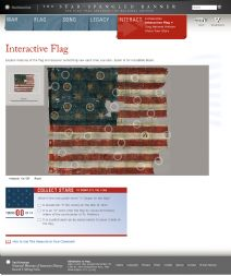 Thumbnail image of Interactive Star-Spangled Banner resource