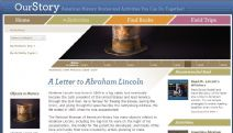 Thumbnail image of A Letter to Abraham Lincoln Homepage