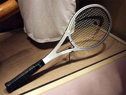 Arthur Ashe's tennis racquet