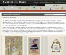 Thumbnail image of Transatlantic Souvenirs resource