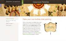 Thumbnail image of Make Your Own Buffalo Hide Painting resource