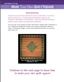 Thumbnail image of Make a Quilt Square resource