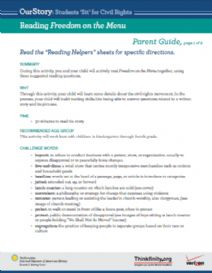 Thumbnail image of Reading Freedom on the Menu resource