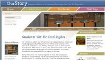 Thumbnail image of Students Sit for Civil Rights Homepage resource