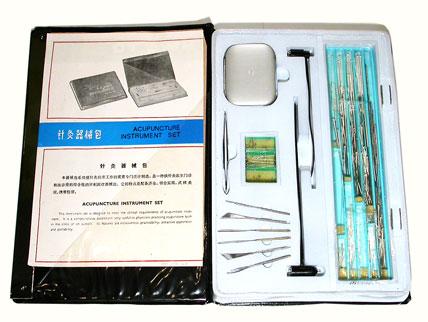 Acupuncture instrument set