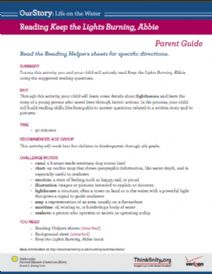 Thumbnail image of Reading Keep the Lights Burning, Abbie resource