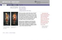 Thumbnail image of Artificial Anatomy: History resource