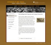 Thumbnail image of Brown v. Board of Education: Separate and Unequal Education resource
