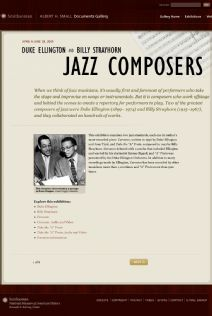 Thumbnail image of Duke Ellington and Billy Strayhorn: Jazz Composers resource