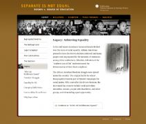 Thumbnail image of Brown v. Board of Education: Achieving Equality resource