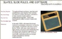 Thumbnail image of Slates, Sliderules and Software: Teaching Math in America resource