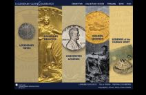 Thumbnail image of Legendary Coins and Currency Homepage