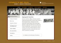 Thumbnail image of Brown v. Board of Education: Segregated America resource