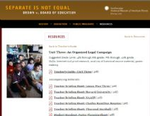 Thumbnail image of Brown v. Board of Education: An Organized Legal Campaign Lesson resource