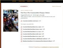 Thumbnail image of Brown v. Board of Education: Five Communities Change a Nation Lesson resource