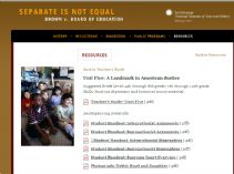 Thumbnail image of Brown v. Board of Education: A Landmark in American Justice Lesson resource