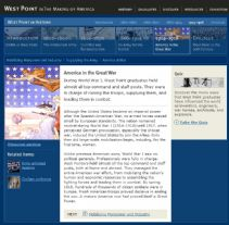 Thumbnail image of West Point Graduates in the Great War resource