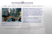 Thumbnail image of the September 11 Digital Archive