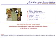 Thumbnail image of Spy Letters of the American Revolution Resource