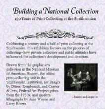 Thumbnail image of Building a National Collection: 150 Years of Print Collecting at the Smithsonian resource
