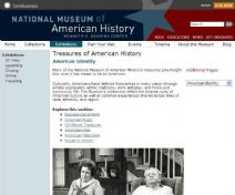 Thumbnail image of Treasures of American History: American Identity resource