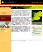 Thumbnail image of Smithsonian Education Online Conference: Climate Change resource