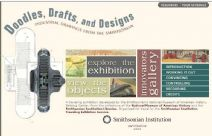 Thumbnail image of Doodles, Drafts and Designs: Industrial Drawings from the Smithsonian resource