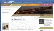 Thumbnail image of Exploring the Sky homepage