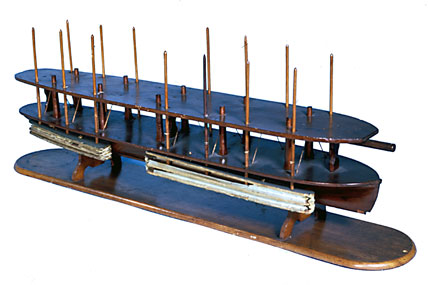 Abraham Lincoln's boat lift patent model