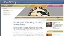 Thumbnail image of Dr. Martin Luther King Jr. and Nonviolence Homepage resource