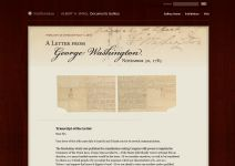 Thumbnail image of A Letter From George Washington Resource