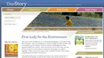 Thumbnail image of First Lady for the Environment Homepage resource