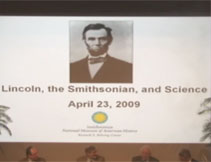 Thumbnail image of Lincoln, the Smithsonian and Science Lecture Video