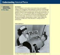 Thumbnail image of Understanding Historical Photos resource