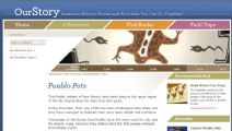 Thumbnail image of Pueblo Pots Homepage resource