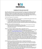Thumbnail image of Guidelines for Discussion about 9/11 resource