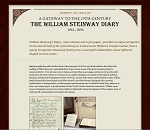 Thumbnail image of  Gateway to the 19th Century: The William Steinway Diary Homepage resource