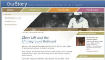 Thumbnail image of Slave Life and the Underground Railroad homepage
