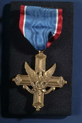 Bronze Distinguished Service Cross medal