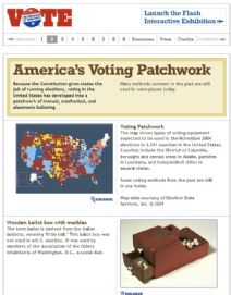 Thumbnail image of America's Voting Patchwork resource