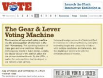 Thumbnail image of the Gear and Lever Voting Machine resource