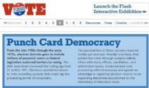 Thumbnail image of Voting: Punch Card Democracy resource
