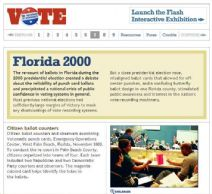 Thumbnail image of Voting: Florida 2000 resource