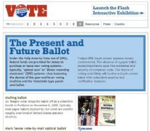 Thumbnail image of Voting: The Present and Future Ballot resource