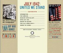 Thumbnail image of United We Stand homepage