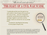Thumbnail image of The Diary of a Civil War Nurse Homepage resource