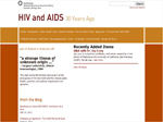 Thumbnail image of HIV and AIDS Thirty Years Ago resource